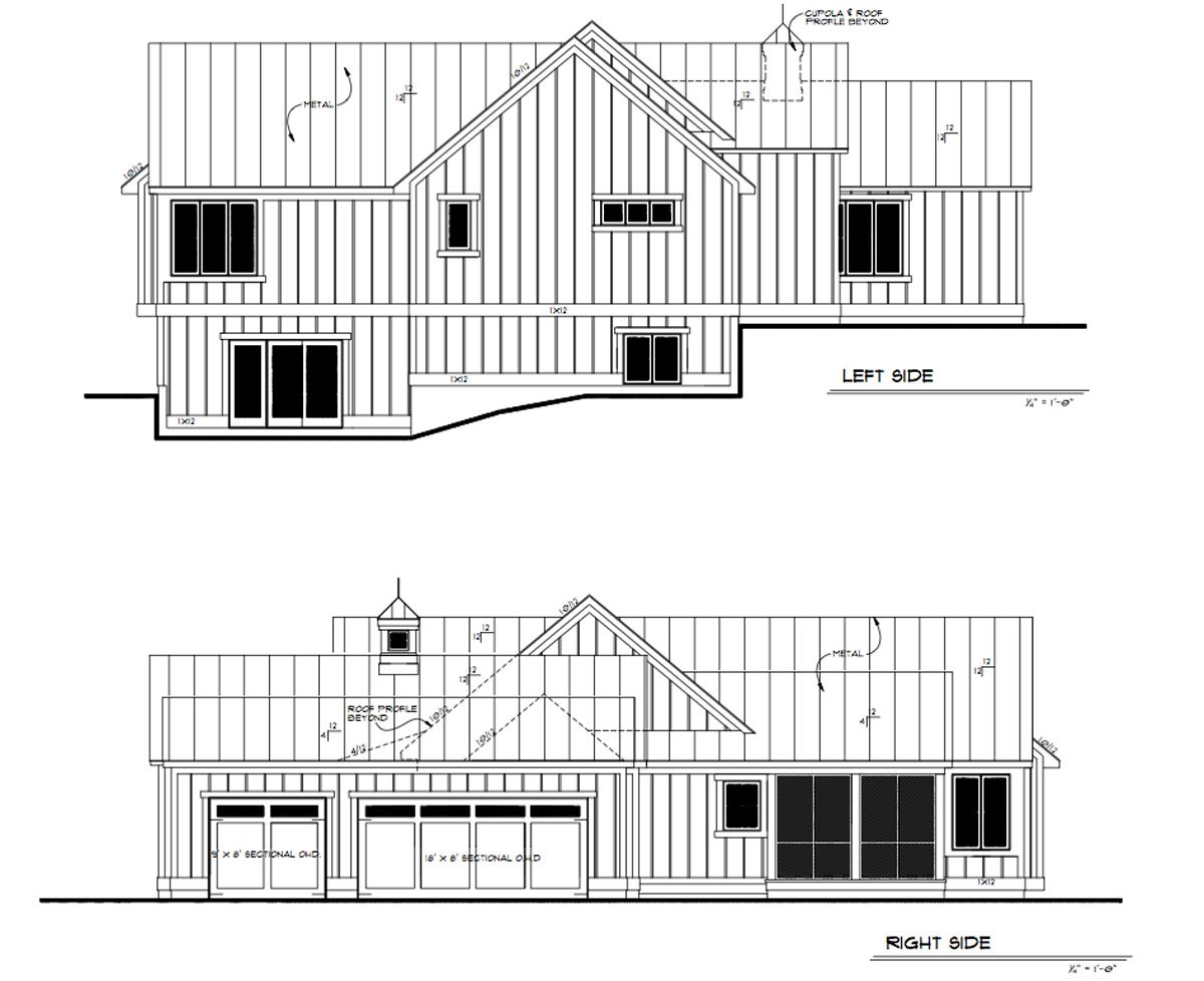 Daeco Builders Available Home Plans: Urban Farmhouse Sides
